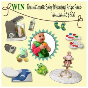 Beaches Kids – Win a Baby Weaning Pack worth $600