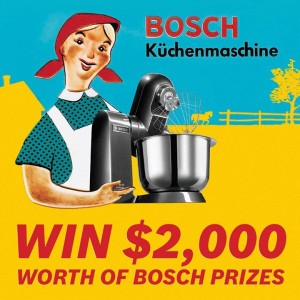 Bosch – Win a Prize Pack of Bosch Products