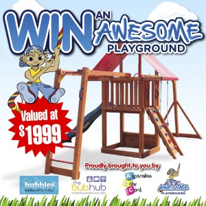 Bubbler – Win a kids playground