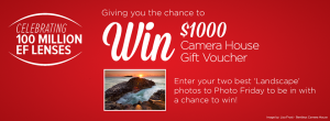 Camera House – Win $1,000 Store Voucher