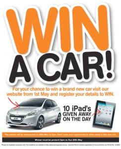 Car Megamart – Win a new car