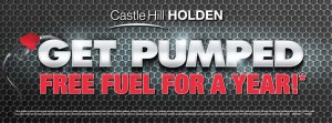 Castle Hill Holden – Win fuel for 1 year