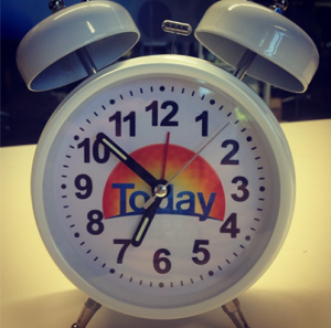 Channel Nine – Today Show – Win 1 of 10 Today Show clocks