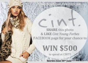 Cint Young Forbes – Win a $500 Wardrobe