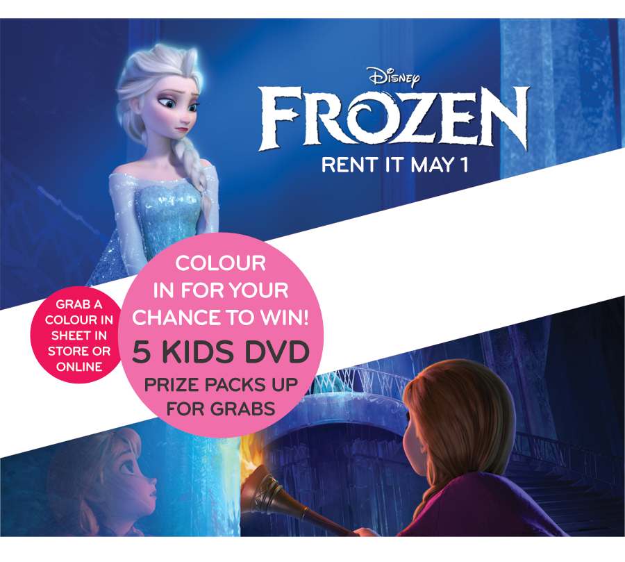 Civic Video – Win Frozen Colouring Competition for Kids