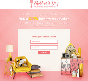 Classic Timber Furniture – Win $1,000 homewares vouchers