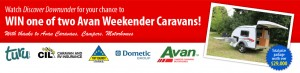Discover Downunder – Win 1 of 2 AVAN Weekender Caravans