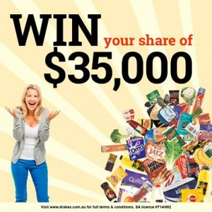 Drakes Supermarkets – Win a $10,400 Drakes gift card or a Year's Supply of Groceries