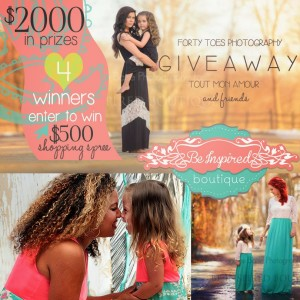 Forty Toes Photography – Win 4x $500 Shopping Sprees