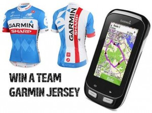Garmin Australia – Submit photo to Win 1 of 5 Team Garmin Jerseys