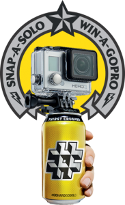 #GOHARDGOSOLO – Daily Win a GoPro HERO3 White Edition valued at $299