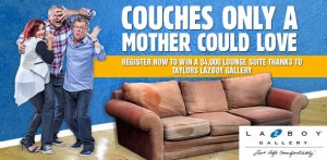 92.5 Gold FM – Win $4,000 Lounge Suite thanks to Taylors Lazboy Gallery