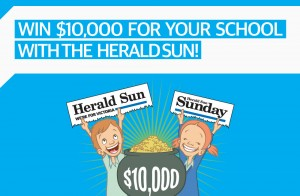 Herald Sun – Win $10,000 for your School