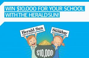 Herald Sun – Win $10,000 for your School