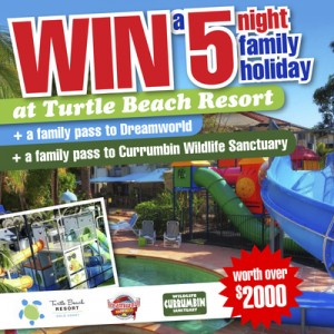 Jump Star trampolines – WIN an amazing 5 night family holiday at Turtle Beach Resort, QLD