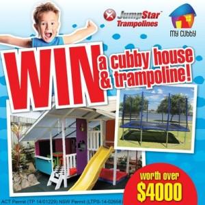 Jump Star Trampolines – Win The Ultimate Kids Backyard Package