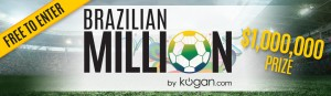 Kogan – Win Million Dollar Brazilian Million Tipping Competition