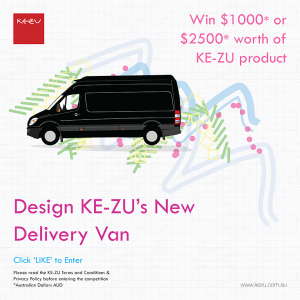 Ke-Zu – Win $1000 or $2500 worth of Ke-Zu products