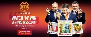 MasterChef – Win a share in $50,000 thanks to Bendigo Bank