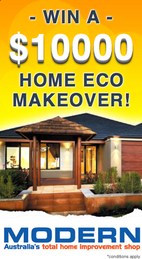 Modern Group – Win A $10,000 Eco Home Makeover