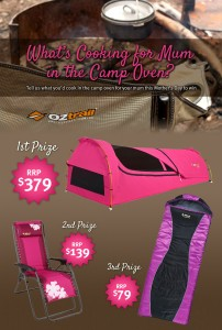 OZtrail Leisure Products – Win Kokomo Swag, Sun Lounge or Sleeping Bag