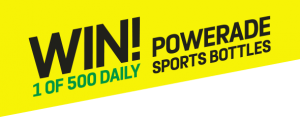 Powerade – Win 1 of 500 daily sports drink bottles