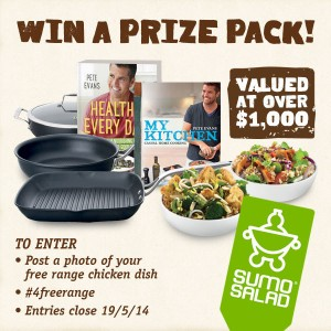 SumoSalad – WIN a SumoSalad Prize Pack