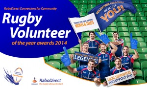 RaboDirect – Nominate Rugby Volunteer Win 1 of 8 $6,000 cash prizes