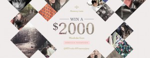 Rebecca Thompson – Win a $2,000 wardrobe