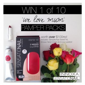 Sensationail – Win 1 of 10 Sensationail and Innoxa Prize Packs