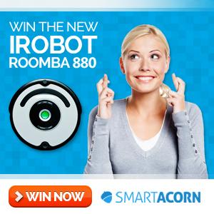 Win a iRobot Roomba
