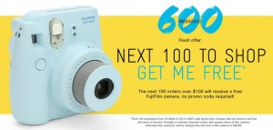 SurfStitch – Win 100 FujiFilm Cameras worth $99.95 daily
