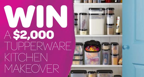 Tupperware Australia, Win A $2K Kitchen Makeover