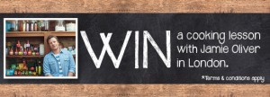 Woolworths – Win a Cooking Lesson with Jamie Oliver in London 2014