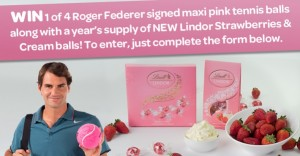 Woolworths – WIN 1 of 4 year's supply of NEW Lindor Strawberries & Cream balls