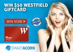 Win a $50 Westfield Voucher