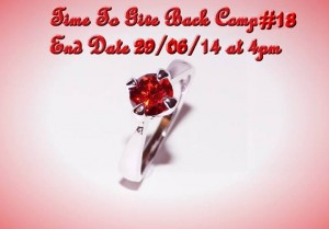 A little bit of everything – Win a 9k White Gold Filled Ruby Ring