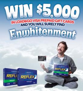 Australia Post – Reflex Paper – Win $5,000 Load & Go Visa Prepaid Cards