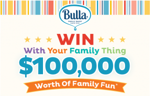 Bulla Family Dairy – Win $100,000 Worth of Family Fun