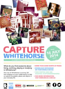 Capture Whitehorse – Win $1000 by instagramming a pic of what you think is awesome about living in Whitehorse, Vic.