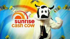 Channel Seven – Sunrise – Cash Cow Competition – July 2014
