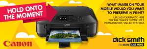 Dick Smith – Win 1 of 5 Canon Pixma Printers