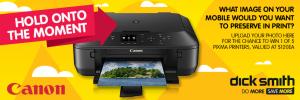 Dick Smith – Win 1 of 5 Canon Pixma Printers