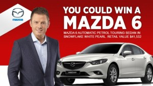 2GB – Win a Mazda 6 valued at over $40,000