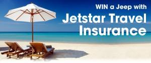Jetstar – WIN a Jeep Compass Sport with Jetstar Travel Insurance