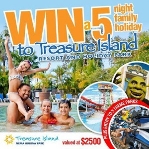 Jump Star Trampolines – Win A 5 night family holiday giveaway to Treasure Island Resort & Holiday Park