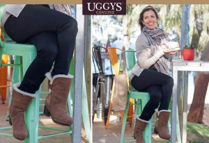 Mouths of Mums – WIN 1 of 2 pairs of ankle wedge UGGYS
