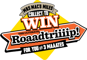 Mrs Mac's Miles – Win A $25,000 Road Trip