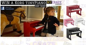 Win a Korg TinyPiano worth $269