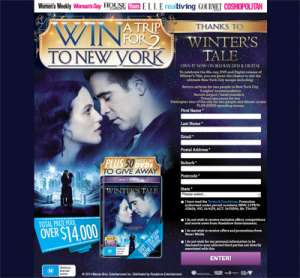 Purchase Magazine from Newsagencies – Win a trip to New York